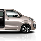 Practical and functional: The Citroen SpaceTourer offers easy access, especially to row three, thanks to the wide opening of the sliding side doors