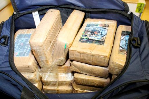 IMPORTING: The cocaine haul weighed more than a tonne