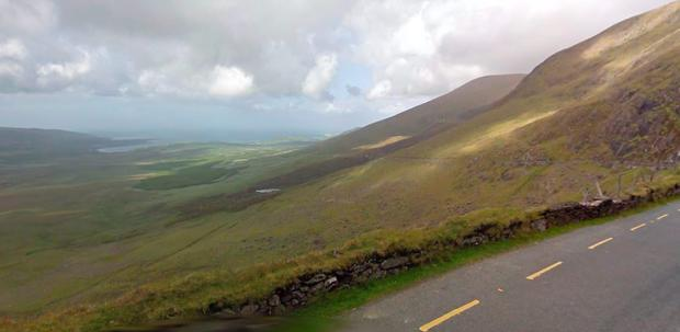 Conor Pass, Kerry (Photo: Google Maps)