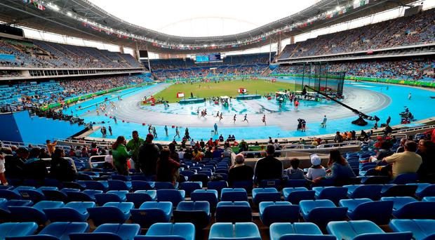 'Personally I found it a strange Olympics, especially with the stadium only being half-full. It should be packed and the atmosphere should be overwhelming.' Photo: Martin Rickett/PA Wire.