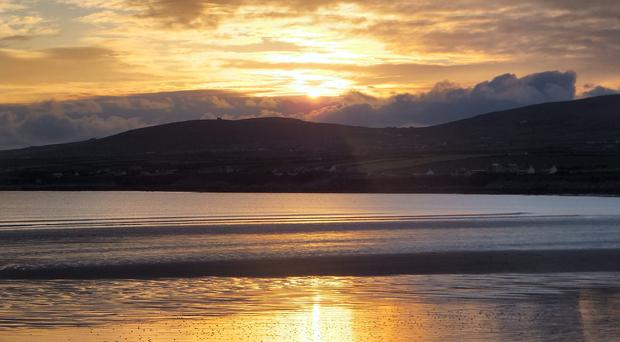 A sunset in Ballyheigue