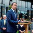 Leo Varadkar gives the graveside oration at the grave of Michael Collins Photo: Robert Maxwell / Maxwells Dublin