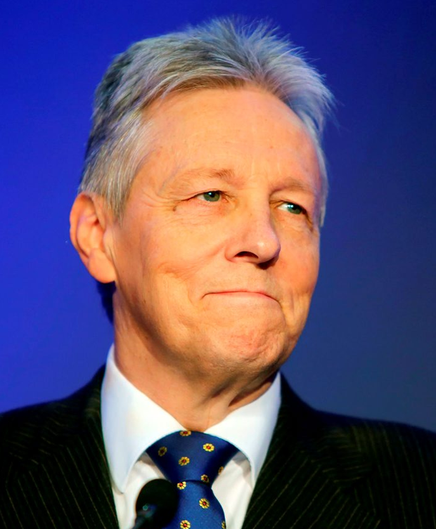 Former first minister and DUP leader Peter Robinson Photo: Niall Carson/PA Wire