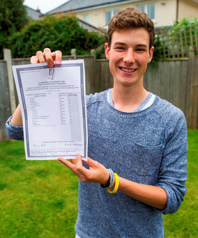 More than 58,000 students got their results last week Photo: Douglas O'Connor