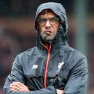Liverpool manager Jürgen Klopp before his side's clash with Burnley at Turf Moor on Saturday. Photo: Reuters