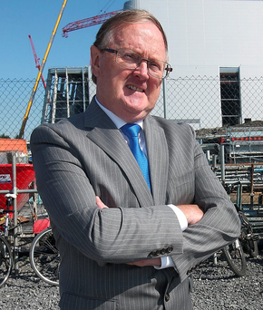 John Daly, general manager of the €500m plant Photo: Damien Eagers