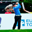 Paul Dunne tees off on the 1st hole. Photo: Getty