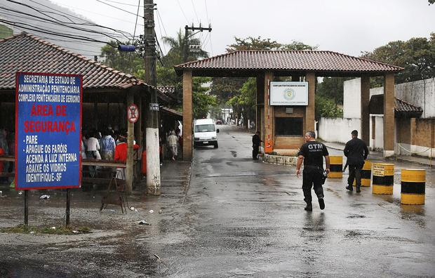 The notorious Bangu Prison in Rio de Janeiros where Pat Hickey and Kevin Mallon are reportedly sharing a cell. Pic Steve Humphreys