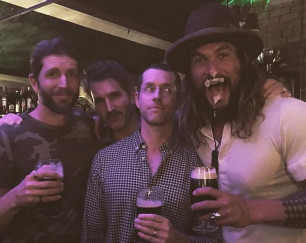 Former Game of Thrones actor Jason Momoa in Dublin. Picture: Instagram