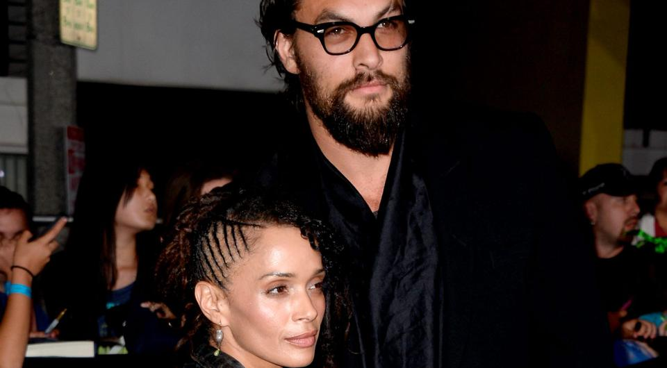 Actors Lisa Bonet and Jason Momoa arrive at the premiere of Summit Entertainment's