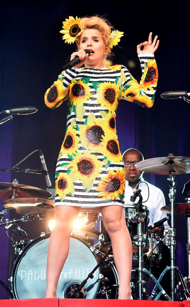 Paloma Faith performs at The Iveagh Gardens in 2015