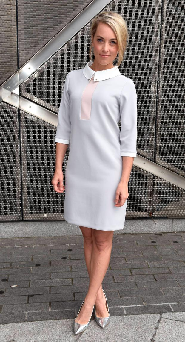 Kathryn Thomas at the RTE new season launch at Grand Canal Dock. Picture: Cathal Burke / VIPIRELAND.COM