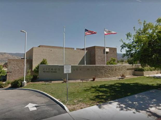 Citrus Valley High School where Laura Whitehurst was an English teacher (Google Street View)