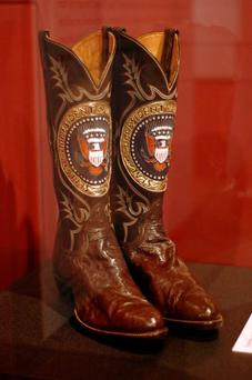 Ronald Regan's cowboy boots