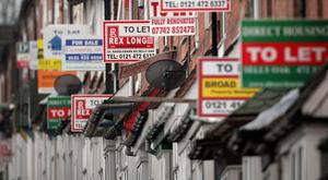 Rents have risen again and are now at their highest level on record. (Stock photo)