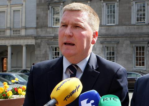 Penal rate: Fianna Fáil Finance spokesman Michael McGrath