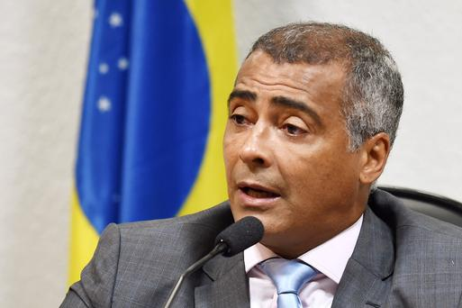 Footballer-turned-politician Romario also raised questions about THG, claiming its hospitality packages were aimed at wealthier clientele. (Photo: EVARISTO SA/AFP/Getty Images)