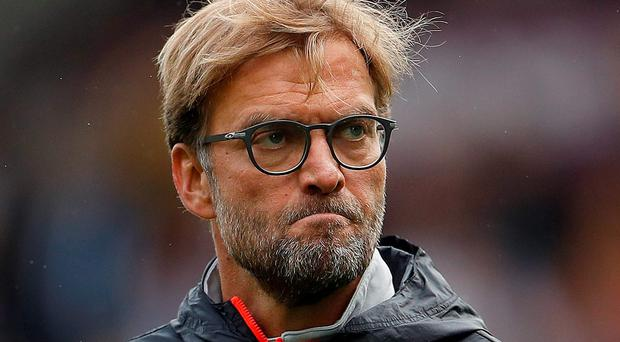 Klopp: Looking to bounce back Picture: Reuters