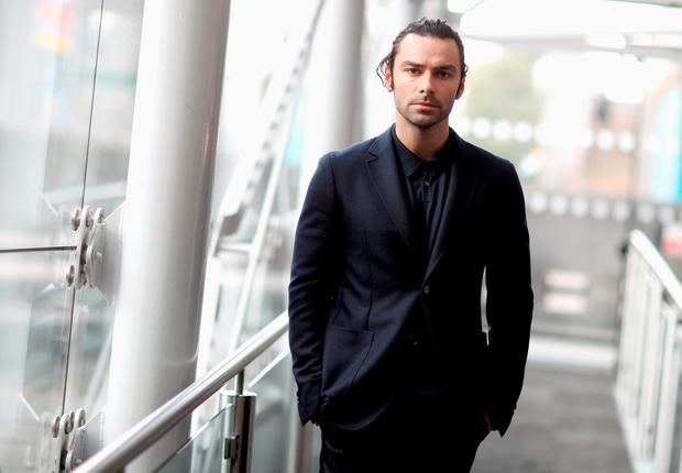 Actor Aidan Turner poses for a portrait at the Poldark Series 2 Preview Screening at the BFI on August 22, 2016 in London, England. (Photo by Chris Jackson/Getty Images)