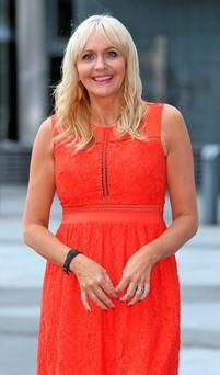 Miriam O'Callaghan pictured at the Bord Gais Theatre at the launch of the new season's shows for RTE 1 and RTE 2. Photo: Colin Keegan, Collins Dublin.