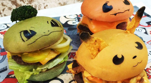Pokeburgers. Photo: Down-N-Out Instagram