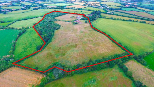 The 52ac holding is located near Crossabeg and is suitable for a variety of farming enterprises