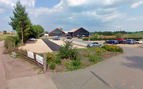 Newlyns and Lodge Farms on Hook Road in North Warnborough Credit: Google Maps