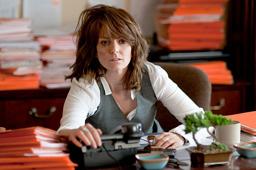 Being miserable in work now could lead to mental and health problems in later life. Picture: Tina Fey in 30 Rock