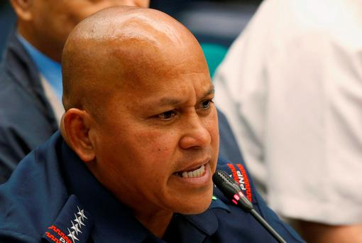 Philippines national police director-general Ronald dela Rosa. Photo: Reuters