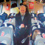 CCTV footage of Jeremy Corbyn on the Virgin train. Photo: PA