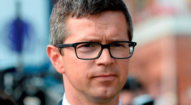 """Trainer Roger Varian """"It was important to achieve that Group One win over 10 furlongs. Whether he needs to go over 10 Photo: Anna Gowthorpe/PA Wire"""