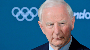 Pat Hickey. Photo: Brendan Moran
