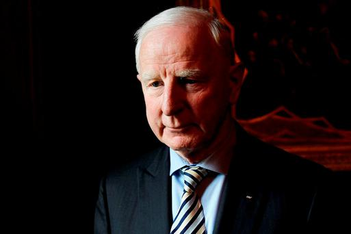 Pat Hickey. Photo: Julien Behal/PA Wire