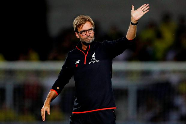 Liverpool manager Juergen Klopp has praised the Old Trafford atmosphere