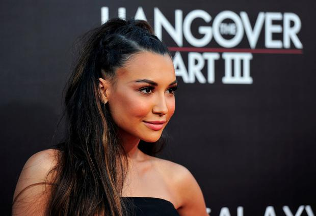 Actress Naya Rivera attends the premiere of Warner Bros. Pictures'