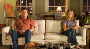 Vince Vaughn and Jennifer Aniston in The Break-Up. Picture: Universal