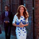 The Duchess of Cambridge arrive at Bute Mills in Luton, to tour the facilities of national charity Youthscape. Picture: Jonathan Brady/PA Wire