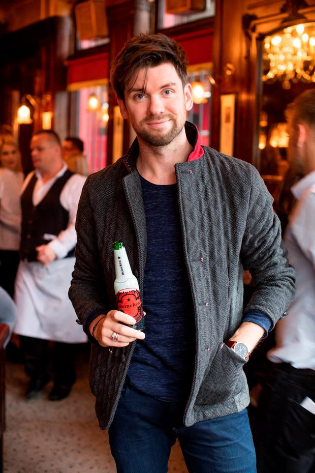 Eoghan McDermott at the launch of the Heineken Star Series at The Ivy, Parliament Street. Picture Anthony Woods