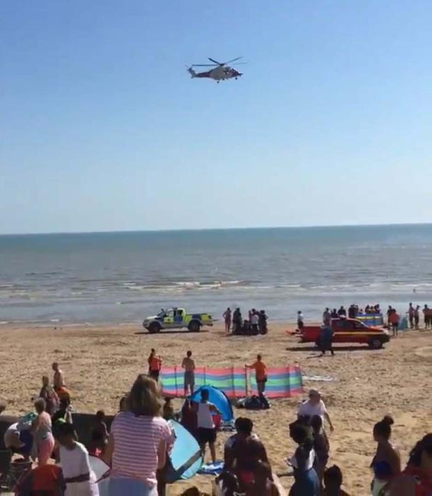 Three men have died after being pulled from the sea. (Peter O Uwaibi/PA)