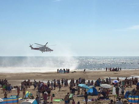 Three men have died after being pulled from the sea. (Tashka4 /PA Wire)