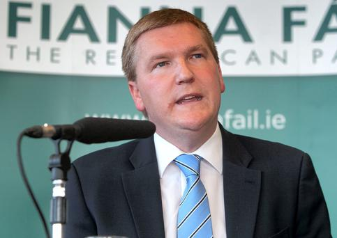 Fianna Fail finance spokesman Michael McGrath Photo: Collins