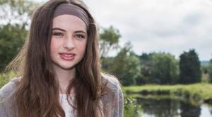 Ruth Conlon Oates (14), from Sligo, is also a talented kick boxer