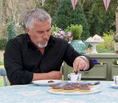 Mary Berry does not approve of dunking. Photo: Twitter/ @BritishBakeOff