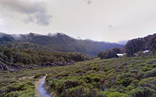 Part of the popular Routeburn Track on New Zealand's south island (Photo: Google Maps)