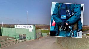 Armed gardai arrived at Arklow GAA pitch (Photo: Google Maps)