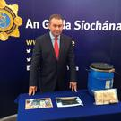 Det Supt Tony Howard of the Garda Drugs and Organised Crime Bureau (DOCB)