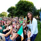 Dún Laoghaire-Rathdown welcomes back silver medal winner Annalise Murphy and local Olympic Athletes to a special homecoming ceremony