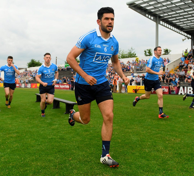 How Kerry utilise captain Bryan Sheehan will be crucial on Sunday, while Cian O'Sullivan (pictured) will again be a key figure for Dublin. Photo: Sportsfile