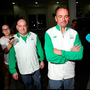 Kevin Kilty and Stephen Martin following police interview in Rio