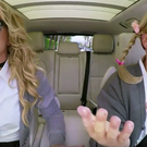 Britney Spears and James Corden in Carpool Karaoke. Photo: CBS